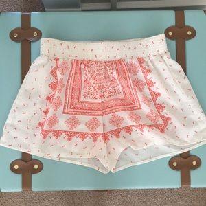 Pants - Printed Shorts